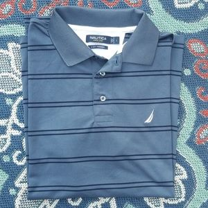 EUC Nautica Men's Polo Golf Shirt Sz L